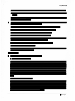 Redacting Non-Relevant Information