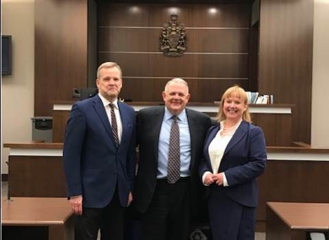 Pel and O'Donnell Admitted to Alberta Bar