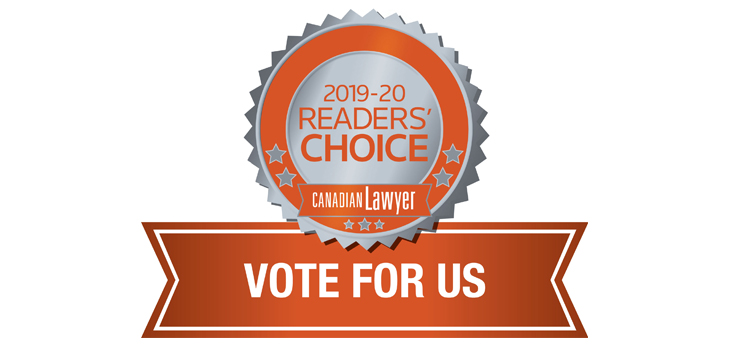 We've been nominated again  …  please vote now!
