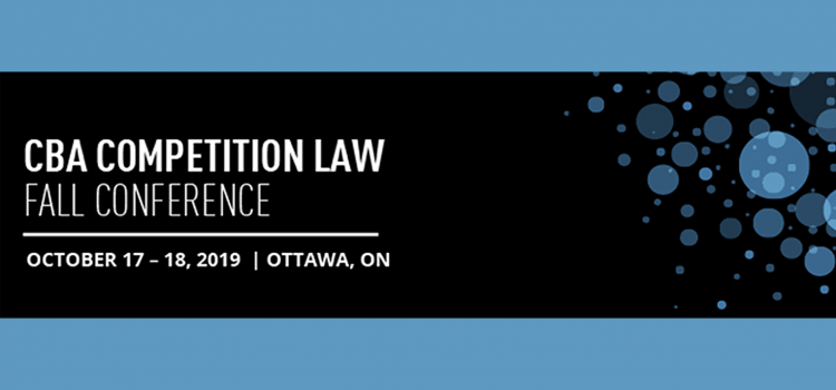 Heuristica Sponsors the CBA 2019 Competition Law Fall Conference