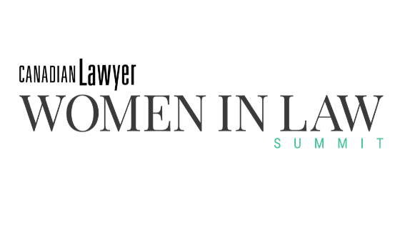 Vicars speaks at Women in Law Summit