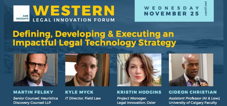 Felsky Speaks at Legal Innovation Forum