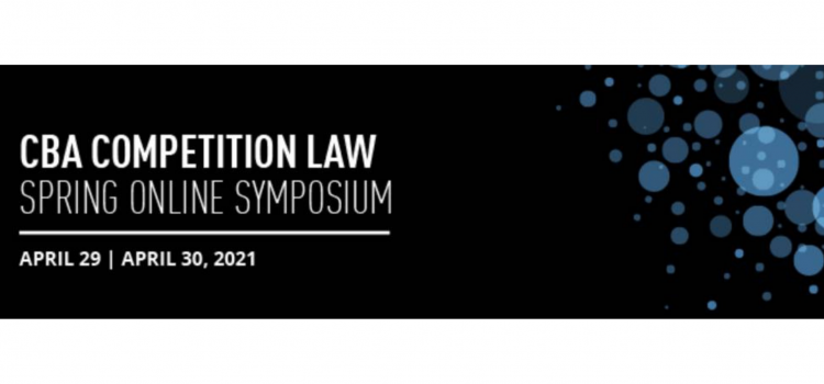 Pleased to Sponsor the CBA's Competition Law Symposium