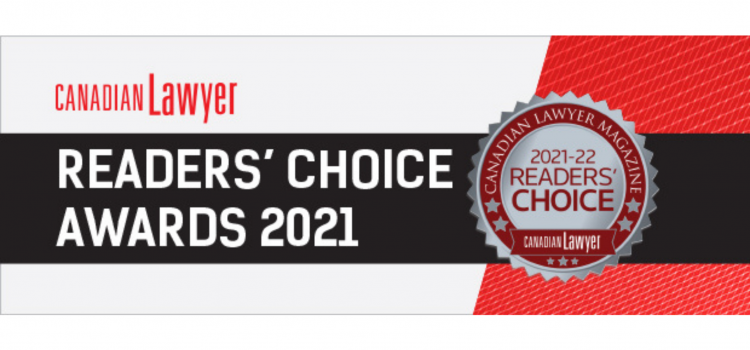 We're Honoured to be Nominated Again – Please vote!